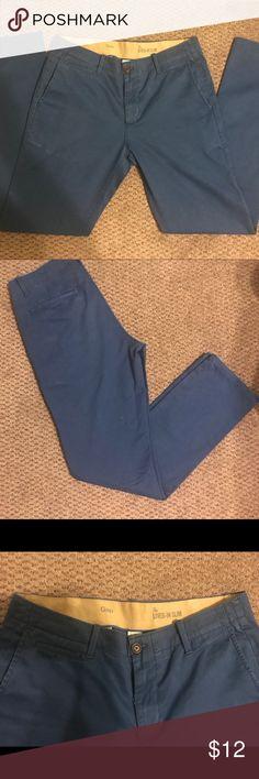 Gap Men's Jeans Blue Gap 100% cotton men's jeans. No flaws. Like new. Only worn twice. Size W32/L32. Make an offer😊 GAP Jeans Slim