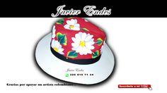 sombreros pintados a mano, sombrero aguadeño