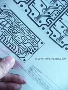 Quemado de mis propias placas de circuitos electrónicos.