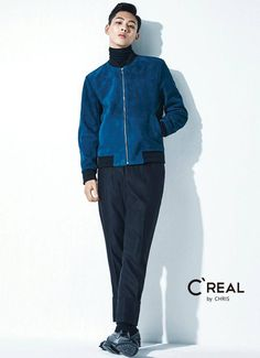 GUY CANDY: Cheer Up's Ji Soo shows smoldering charisma in C'REAL photoshoot