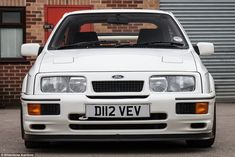 Fast Ford heaven: This car has been described as the 'Holy Grail' of all fast Fords - it's chassis number 001, the first ever example of the hugely desirable Sierra Cosworth RS500