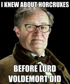 Hipster Slughorn #harrypotter #humor