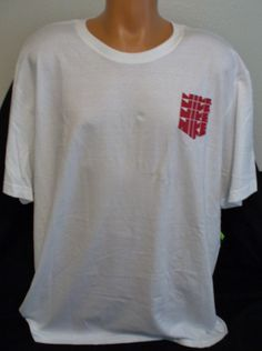 NEW NIKE GRAPHIC WHITE T SHIRT 100% COTTON SIZE 3XL #Nike #GraphicTee