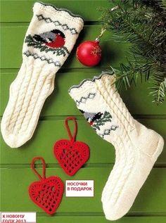 Носки с норвежскими узорами: buenahada