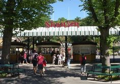 Skansen is the first open air museum and zoo in Sweden and is located on the island Djurgården in Stockholm, Sweden.