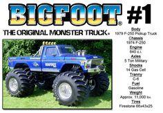 BIGFOOT #1 « Bigfoot 4×4, Inc. – Monster Truck Racing Team