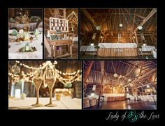 A beautiful barn wedding at the Hayloft. Photo Credit: Lady of the Lens Photography