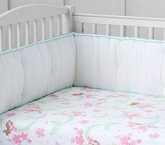 Mermaid Crib Fitted Sheet #pbkids