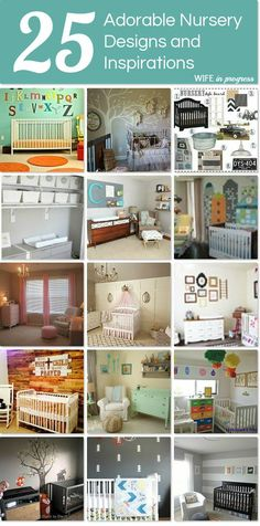 25 adorable nursery designs and inspirations