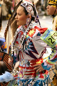 Native Jingle Dresses | http://www.centreland.org.uk/jingledresspage.html