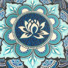 New Deep Art Inspiration Water Ideas Mandala Art, Mandalas Drawing, Mandala Coloring Pages, Mandala Painting, Dot Painting, Lotus Drawing, Drawing Flowers, Azulejos Art Nouveau, Yoga Studio Design
