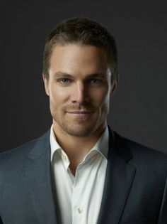 Stephen Amell- Suited