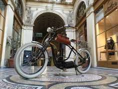 Royal Roadster at Gallerie Vivienne Electric Bicycle, High Class, Vivienne, New Experience, French, Paris, Motorcycles, Electric Push Bike, Montmartre Paris