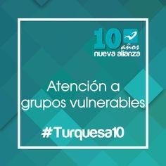 Nos preocupamos por los grupos vulnerables en #México #Turquesa10