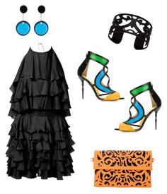 """Dance all night"" by aakiegera on Polyvore featuring мода, Balmain, Francesca Mambrini, Marni и Lisa August"