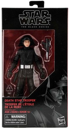 Star Wars The Black Series Death Star Trooper Figure Dungeons And Dragons Accessories, Star Troopers, Star Wars Toys, Death Star, Star Wars Collection, Black Series, Disney Star Wars, Clone Wars, Action Figures