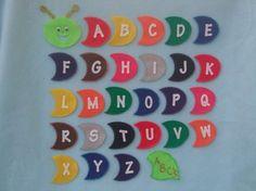 Alphabet felt board