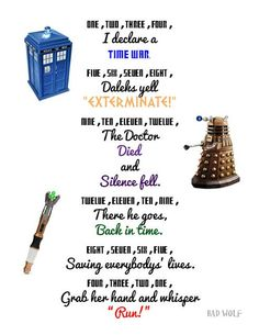 Pinning in case we have a Dr. Who themed birthday party in the future... this could be worked into a game of some kind.
