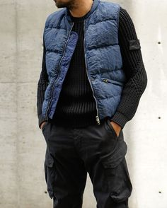 Mens Fashion Rugged – The World of Mens Fashion Look Cool, Cool Style, Men's Style, Hoodie Jacket, Bomber Jacket, Stylish Outfits, Cool Outfits, Stone Island Shadow Project, School Fashion