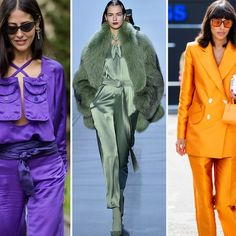5 Unexpected Fall Color Trends to Liven Up Your Wardrobe Fall Fashion Colors, Pink Fashion, Colorful Fashion, Japanese Fashion Trends, 2020 Fashion Trends, Fashion Ideas, Urban Style Outfits Men, Hot Pink Blazers, Revealing Dresses
