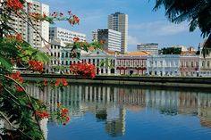 Recife, la Venecia de Brasil  Aunque no es uno de los destinos más conocidos de Brasil, Recife es una perla turística situada en el extremo este del país. Integra grandes atractivos: playas, sol, arquitectura colonial y una vida cultural intensa.