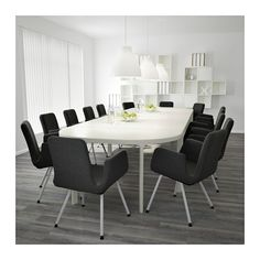 $758 BEKANT Conference table - white - IKEA