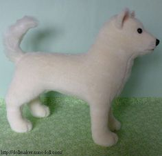 FREE PATTERN + TUTORIAL:  Japanese dog