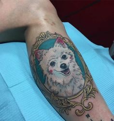 Puppy tattoo by Mush. Puppy Tattoo, Body Is A Temple, Gorgeous Body, Animal Tattoos, Tattoo You, Sea Creatures, Watercolor Tattoo, Body Art, Dog Cat