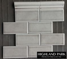 "Dove Gray 3x6"" Crackle Subway Tile available online from TheBuilderDepot.com for $8.50 square foot."
