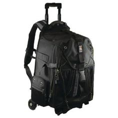 Ape Case Pro Digital SLR and Video Camera Convertible Rolling Backpack (ACPRO4000) by Norazza, Inc.. $146.06. From the Manufacturer                           ACPRO4000 Ape Case Convertible Rolling Backpack The ACPRO4000 Convertible Rolling Backpack is designed to house and transport a full sized laptop, two to three DSLR's and numerous accessories including lenses, flashes and tripods. Its unique design employs a removable cart system that allows for easy transformation...