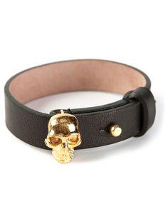 ALEXANDER MCQUEEN skull bracelet on Vein - getvein.com