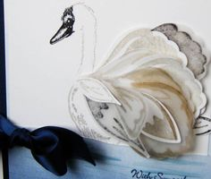 HOW TO BUILD A SWAN by Butternutsage - Cards and Paper Crafts at Splitcoaststampers