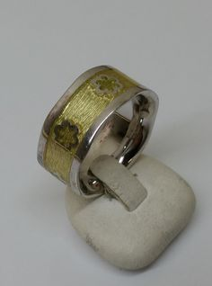 Vintage Ringe - Silber 925er Ring Blümchen 19,7 mm Vintage SR660 - ein Designerstück von Atelier-Regina bei DaWanda