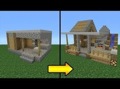 Minecraft Tutorial: How to Transform a Villager Blacksmith