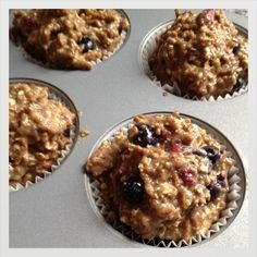 Wake up to these delicious and helpful lactation muffins! #breastfeeding #lactation #muffins #recipe