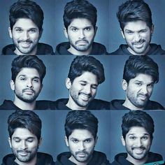 lovely brother is looking so lovely in all expressions Actor Picture, Actor Photo, Handsome Actors, Cute Actors, Allu Arjun Hairstyle, Allu Arjun Wallpapers, Allu Arjun Images, Vijay Actor, Actors Images