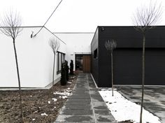 This passive house is minimalist perfection. http://inhabitat.com/le-2-workshops-third-house-from-the-sun-is-a-passive-minimalist-dwelling-in-poland/