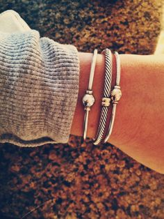 David Yurman & Cape Cod bracelets