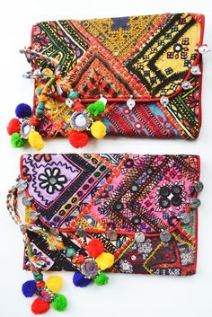 Lone Traveller Banjara Clutch Bag