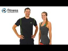 Day 3: HIIT Cardio & Abs - Fitness Blender's 5 Day Workout Challenge to Burn Fat & Build Lean Muscle - YouTube