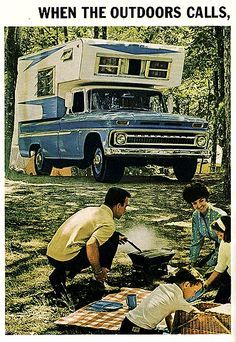 Chevrolet Pickup with Camper