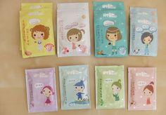 sheet masks de la marque taïwanaise Face Q