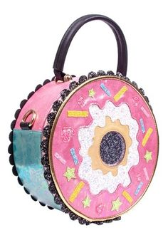 Looking for Irregular Choice Donut Worry Pink & White Handbag Standard ? Check out our picks for the Irregular Choice Donut Worry Pink & White Handbag Standard from the popular stores - all in one. Irregular Shoes, Irregular Choice, Gold Handbags, Purses And Handbags, White Handbag, White Purses, Purses For Sale, Leather Clutch, Cross Body Handbags
