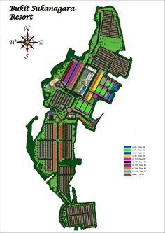 Siteplan Bukit Sukanagara Resort