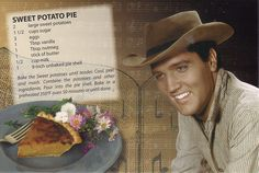 Elvis Sweet Potato Pie, click for recipe.  #knife #knives www.hesslerworldwide.com