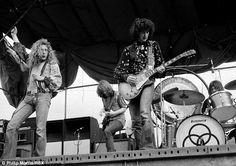 Led Zeppelin in Sydney, February 1972