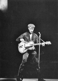Johnny Hallyday in concert, September, 1960