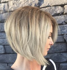 Straight Tousled Bob Hairstyle