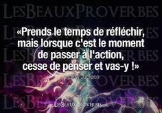 Les Beaux Proverbes – Proverbes, citations et pensées positives » » Cesse de penser