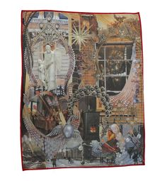 """The blanket is hand made in Spain and features the famous story """"The Little Match Girl"""" by Hans Christian Andersen The Little Match Girl, Blankets For Sale, Digital Prints, Fairy Tales, Outdoor Blanket, Cushions, Hans Christian, House Design, Interior Design"""